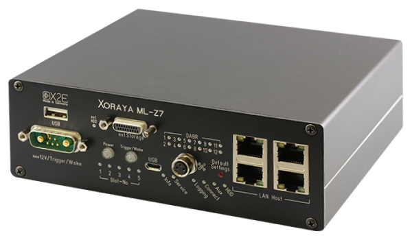 The XORAYA ML-Z7 is a compact and low-cost automotive data logger with customizable interfaces.