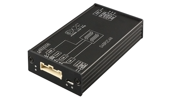 The OABR2CAN media gateway allows data to be translated between an OABR interface and two HS-CAN interfaces.