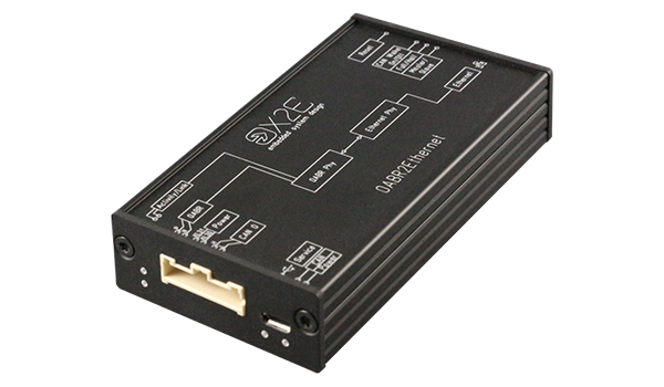 The OABR2Ethernet Media Converter converts data between BroadR-Reach® (OABR) and standard Ethernet 100BASE-T.