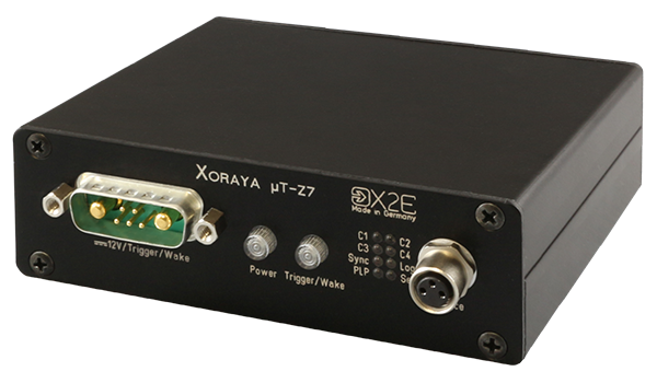 The XORAYA μT-Z7 micro probe is an ultra-compact probe for recording one or more vehicle bus systems.
